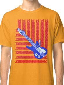 Red, White & Celtic Blues Classic T-Shirt