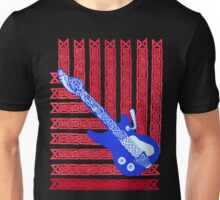 Red, White & Celtic Blues Unisex T-Shirt