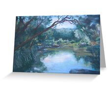 Blicks River, Dundurrabin Greeting Card
