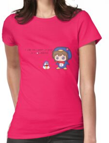 Love Penguins Womens Fitted T-Shirt