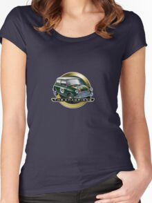 Mini green Women's Fitted Scoop T-Shirt