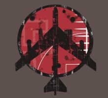 B-52 Peace Symbol by zzzeeepsdesigns
