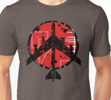 B-52 Peace Symbol Unisex T-Shirt