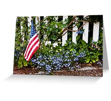 Simple Remembrance Greeting Card