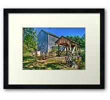 Beckman's Mill Framed Print