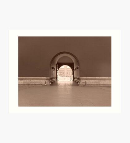 Peacefulness-Tiananmen Square/Forbidden City Art Print