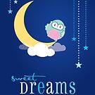 OWL SERIES :: sweet dreams 3 by Kat Massard