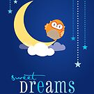 OWL SERIES :: sweet dreams 4 by Kat Massard