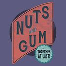 Nuts and Gum - Together at Last! by Messypandas