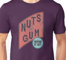 Nuts and Gum - Together at Last! Unisex T-Shirt