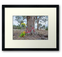 CLASSIQUE SPEEDWELL... Vintage bicycle. Framed Print