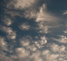 clouds  in the sky by Matthew Cheung