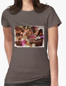 Butterfly Bats from Hot Summer Dream Womens Fitted T-Shirt