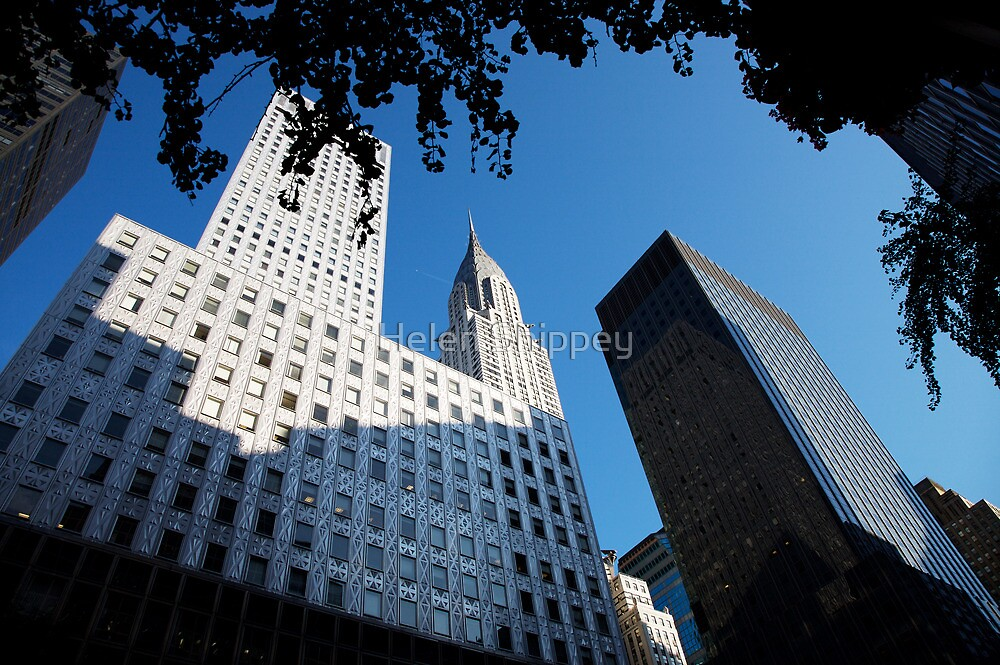New York City Skyline, Empire State Building by Helen Shippey