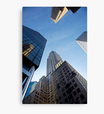 New York City Skyline Empire State Building Canvas Print