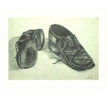 Old Simon Harts Art Print