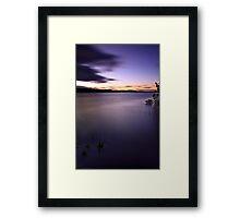 """""""Dusk"""" Framed Print"""