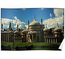 The Royal Pavilion, Brighton. Poster