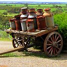old milk cart by bobby1