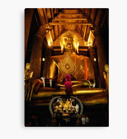 Giant Buddha Canvas Print