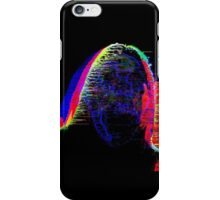 Neon Face Glitch Art iPhone Case/Skin