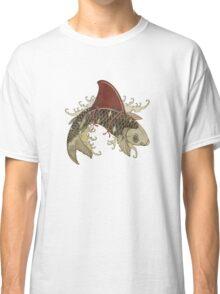 koi shark fin 03 Classic T-Shirt