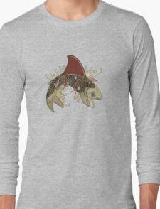 koi shark fin 03 Long Sleeve T-Shirt