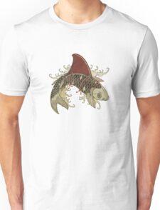 koi shark fin 03 Unisex T-Shirt