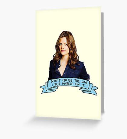 Beckett Greeting Card