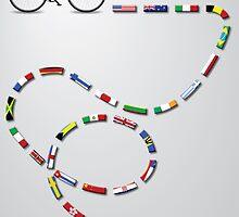 Ride Around The World by GordonGraphics