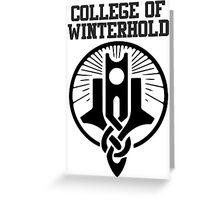 College of Winterhold shirt – Skyrim, Dragonborn Greeting Card