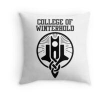 College of Winterhold shirt – Skyrim, Dragonborn Throw Pillow