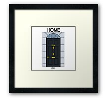 Home - 221B Framed Print