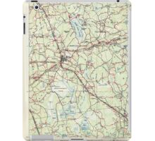 Massachusetts  USGS Historical Topo Map MA Middleboro 352851 1916 62500 iPad Case/Skin