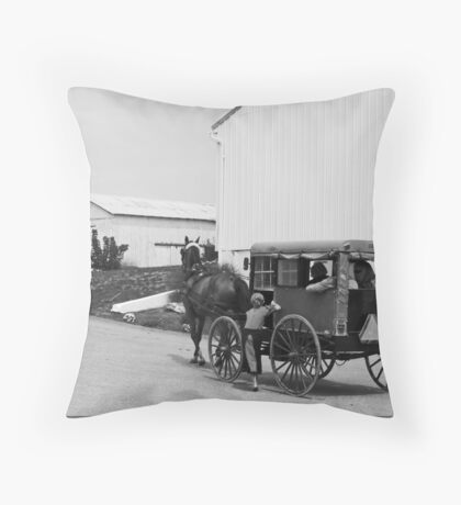 Room For One More Throw Pillow