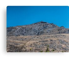 Mount Snowdon in Blue  Canvas Print