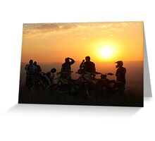 Out ride in Swaziland Greeting Card