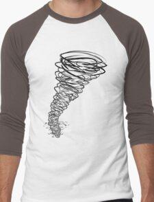 t-t-t-TORNADO! Men's Baseball ¾ T-Shirt