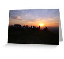 Out ride in Swaziland(2) Greeting Card