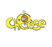 Cheese logo. by Voron4ihina