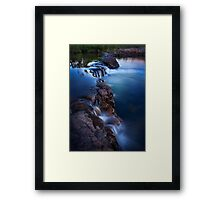 Sweetwater Cascading Framed Print