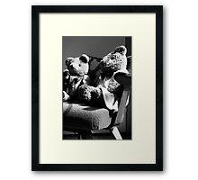 Childhood past ... Framed Print