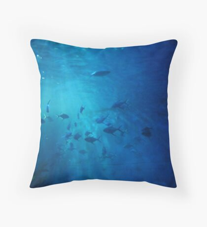 FOLLOW my LEADER {challenge entry} Throw Pillow