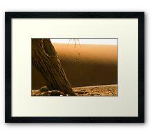 Sossusvlei Dune Formations - Namibia Framed Print