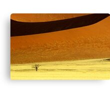 Sossusvlei Dune Formations - Namibia Canvas Print