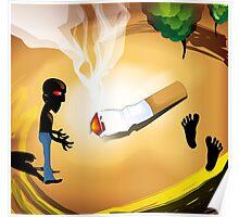Smoking hazards Poster