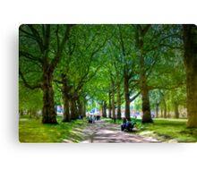 The Park - Buckingham Palace, London, United Kingdom Canvas Print