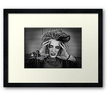Mad Science Framed Print