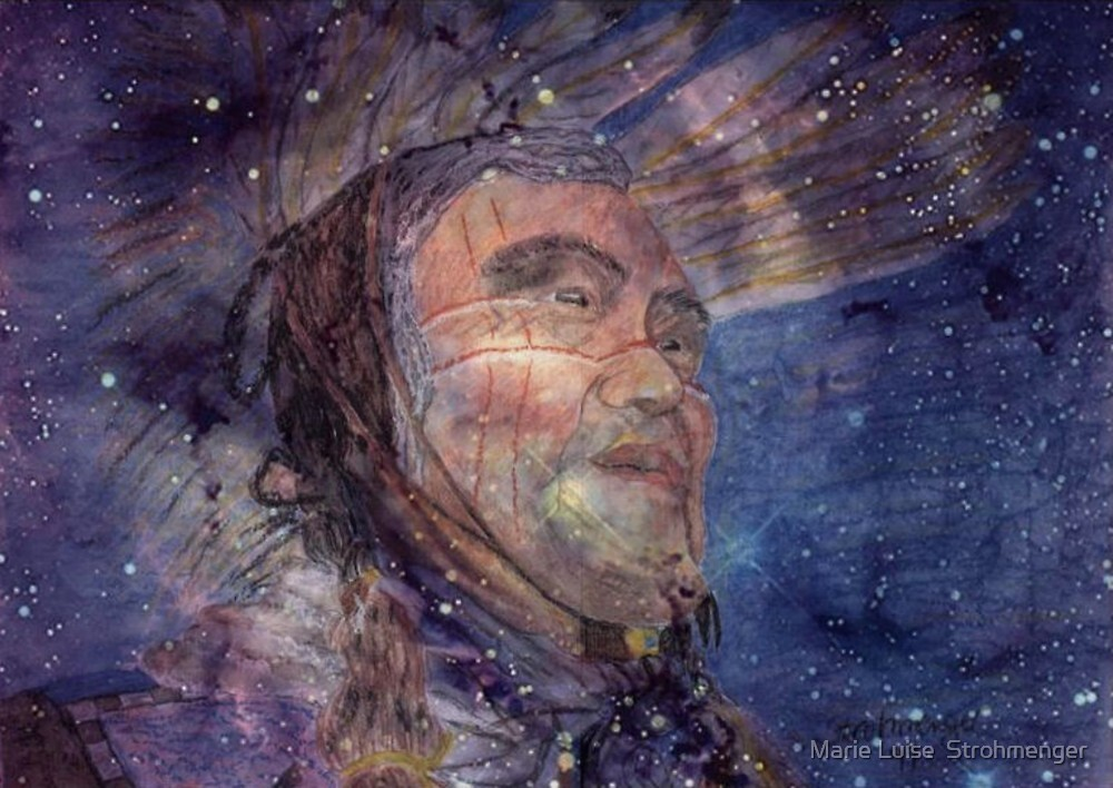 The chiefs Wisdom by Marie Luise  Strohmenger