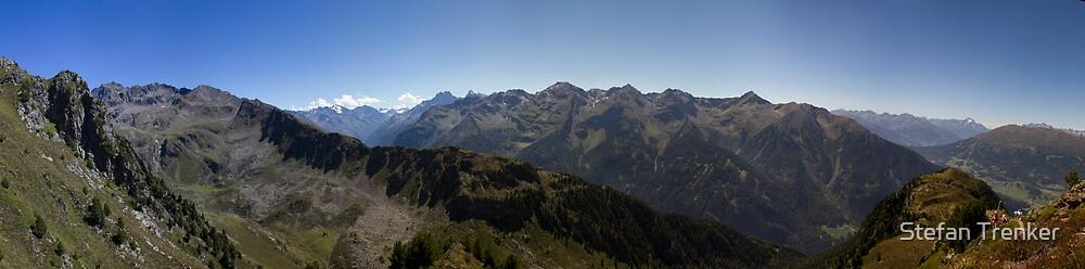 Along the ridge by Stefan Trenker